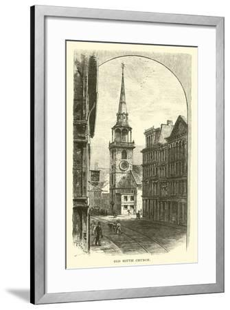 Old South Church--Framed Giclee Print