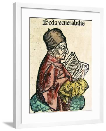 Portrait of Bede--Framed Giclee Print