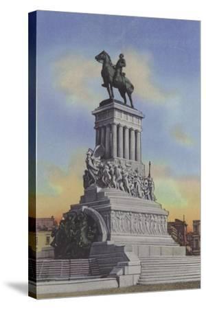 Monumento a Maximo Gomez, Maximo Gomez Monument--Stretched Canvas Print
