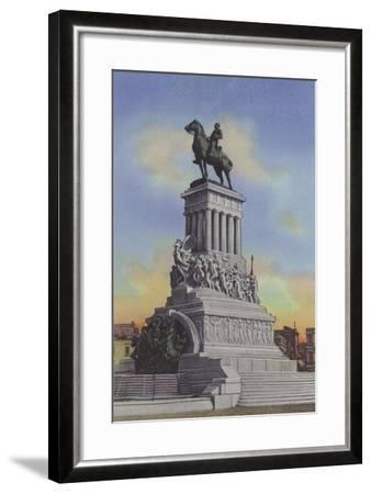 Monumento a Maximo Gomez, Maximo Gomez Monument--Framed Photographic Print
