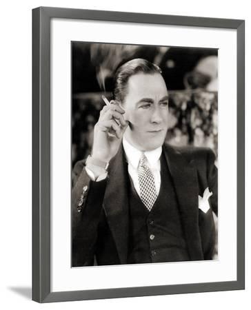 Portrait of Owen Moore--Framed Photographic Print