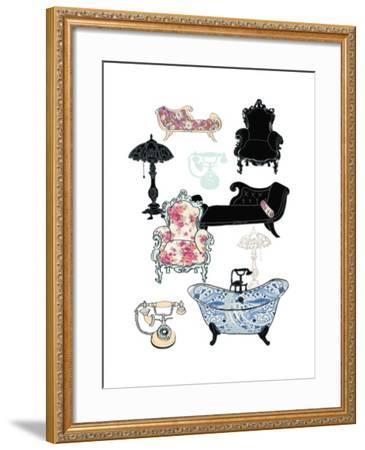 Furniture, 2013-Anna Platts-Framed Giclee Print