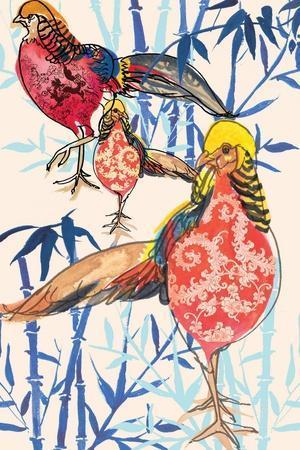 Golden Pheasant, 2013-Anna Platts-Stretched Canvas Print