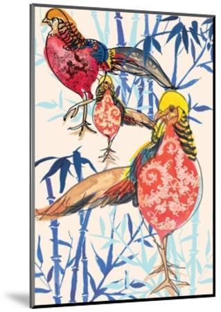 Golden Pheasant, 2013-Anna Platts-Mounted Giclee Print