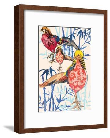 Golden Pheasant, 2013-Anna Platts-Framed Giclee Print