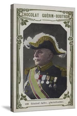 General Joffre, Generalissime--Stretched Canvas Print