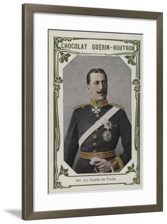 Le Comte De Turin--Framed Giclee Print