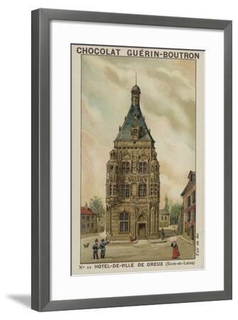 Hotel-De-Ville De Dreux, Eure-Et-Loire--Framed Giclee Print