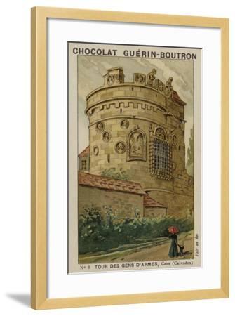 Tour Des Gens D'Armes, Caen, Calvados--Framed Giclee Print