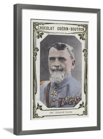 General Ferrie--Framed Giclee Print