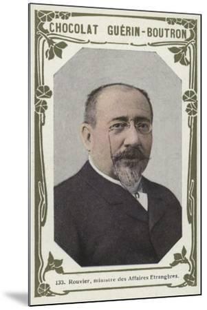 Rouvier, Ministre Des Affaires Etrangeres--Mounted Giclee Print