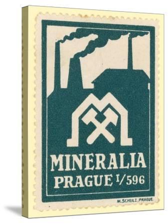 Mineralia Prague--Stretched Canvas Print