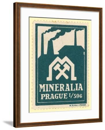 Mineralia Prague--Framed Giclee Print