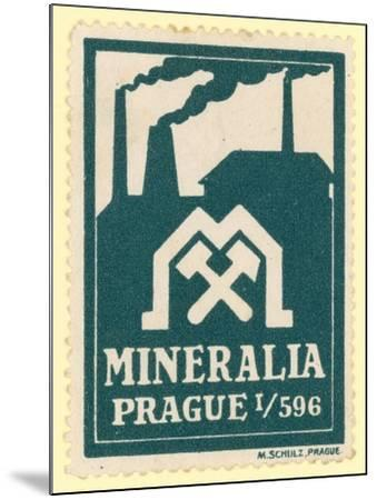 Mineralia Prague--Mounted Giclee Print