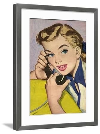 Illustration from Magazine, 1952--Framed Giclee Print