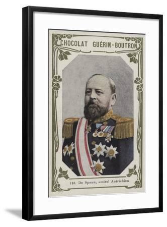De Spaun, Amiral Autrichien--Framed Giclee Print