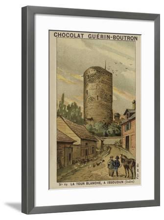 La Tour Blanche, a Issoudun, Indre--Framed Giclee Print