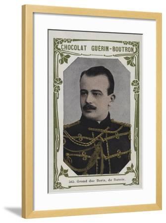 Grand Duc Boris, De Russie--Framed Giclee Print