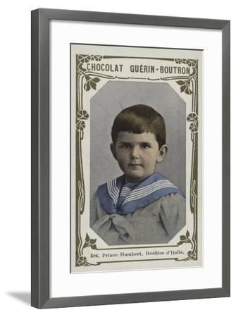 Prince Humbert, Heritier D'Italie--Framed Giclee Print
