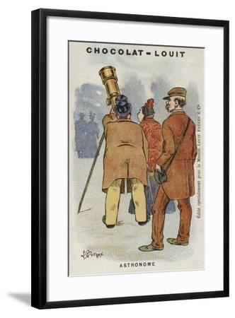 Astronome-Louis Borgex-Framed Giclee Print