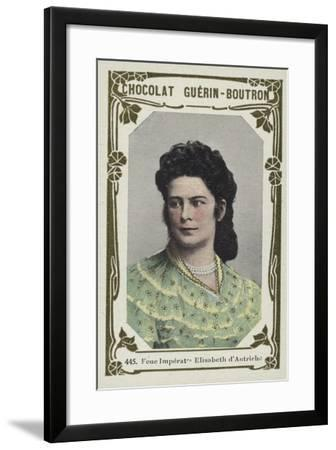Feue Imperatrice Elisabeth D'Autriche--Framed Giclee Print