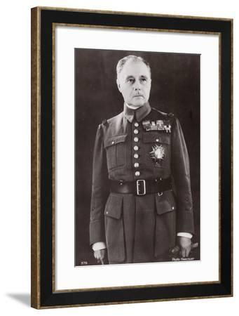 General Gamelin--Framed Photographic Print