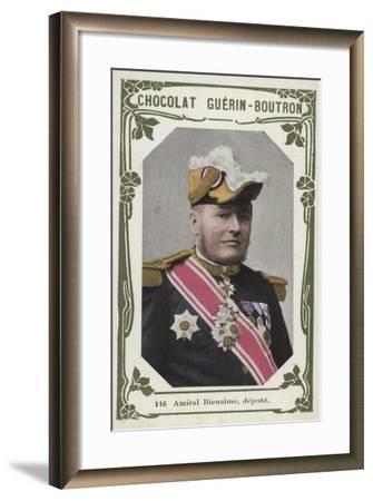 Amiral Bienaime, Depute--Framed Giclee Print