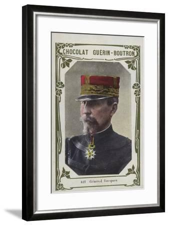 General Rocques--Framed Giclee Print