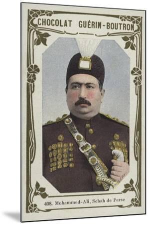 Mohammed-Ali, Schah De Perse--Mounted Giclee Print