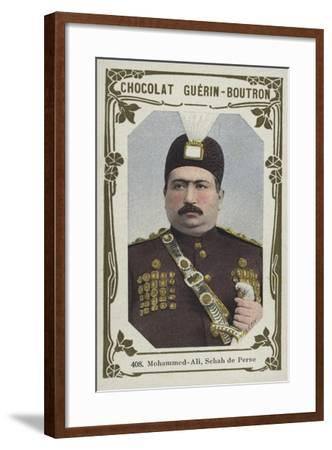 Mohammed-Ali, Schah De Perse--Framed Giclee Print