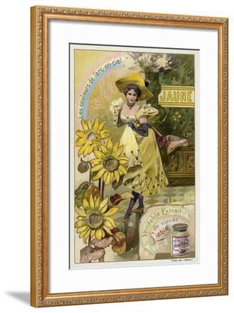 Yellow--Framed Giclee Print