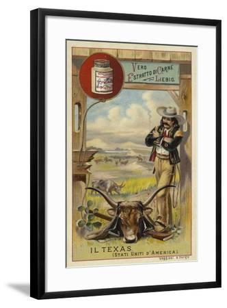 Texas--Framed Giclee Print