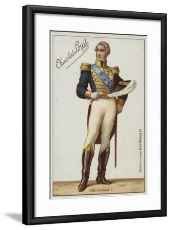 Charles X--Framed Giclee Print