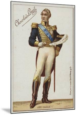 Charles X--Mounted Giclee Print
