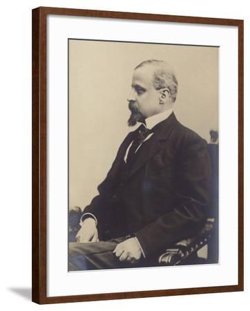 Portrait of Henryk Sienkiewicz--Framed Photographic Print