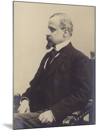 Portrait of Henryk Sienkiewicz--Mounted Photographic Print