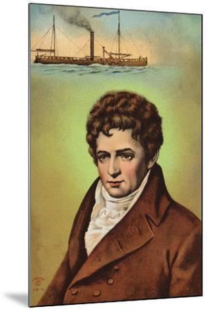 Robert Fulton--Mounted Giclee Print
