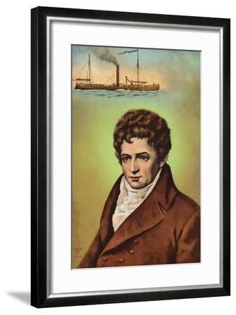 Robert Fulton--Framed Giclee Print