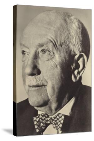 Portrait of Oscar Strauss--Stretched Canvas Print