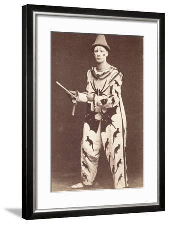 Clown--Framed Photographic Print