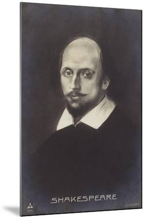 William Shakespeare--Mounted Giclee Print