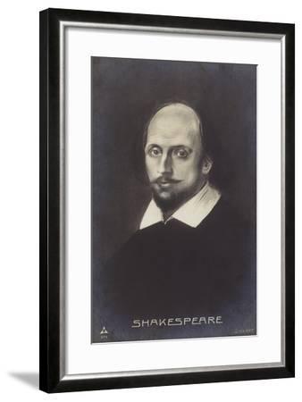 William Shakespeare--Framed Giclee Print