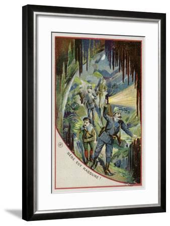 Bebe Is Reassured--Framed Giclee Print