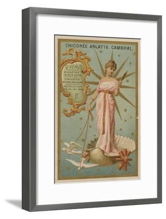 Venus--Framed Giclee Print