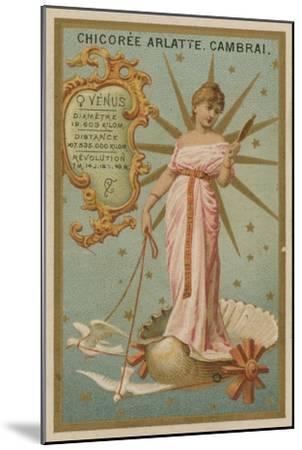 Venus--Mounted Giclee Print