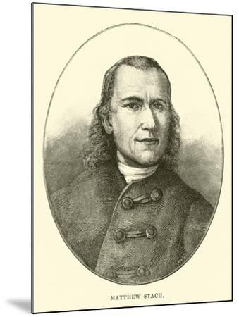 Matthew Stach--Mounted Giclee Print