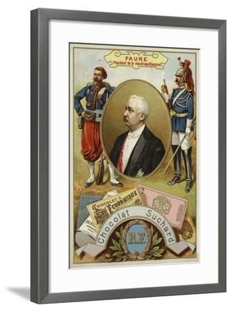 Felix Faure, President of France--Framed Giclee Print