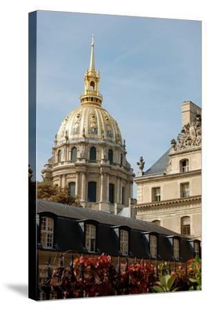 Les Invalides, Paris, France--Stretched Canvas Print