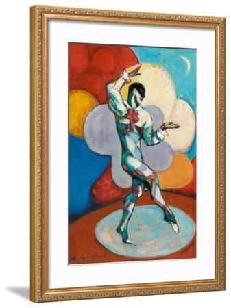 Clown, 1988-9-Wendy Raphael-Framed Giclee Print