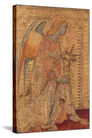 The Angel of the Annunciation, C.1333-Simone Martini-Stretched Canvas Print